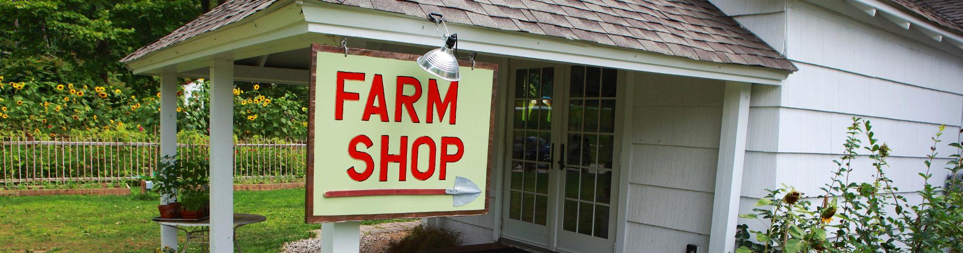 Purdy's Farm Shop Sign