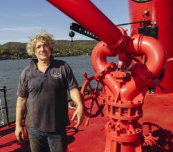 Ed Taylor on the McKean. How an FDNY boat that rescued 9/11 survivors lives on
